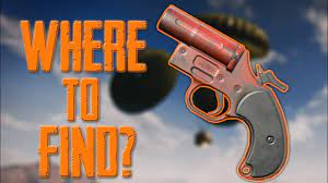 Flare guns are used for calling a special supply drop with special weapons, level 3 armour, helmet, ghillie suit etc. Where To Find Flare Gun Best Places To Get Flare Gun Pubg Mobile Youtube