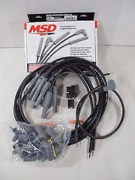 msd ignition 31229 red universal 8 5mm spark plug wire set 8 msd ignition 31193 black 2 in 1 universal 8 5mm spark plug wire set