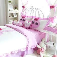 shabby chic girls bedding pink