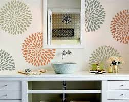 Wall Stencil Patterns Inspiration Of Late N Design Stencils For Walls Stencil Wall 48 Classic Design