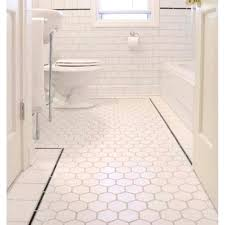 glamorous floor tiles for bathroom non slip hexagon porcelain tile white matte porcelain non slip tile