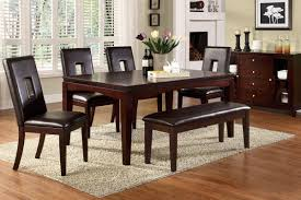 Rugs That Showcase Their Power Under The Dining Table - Dark wood dining room tables