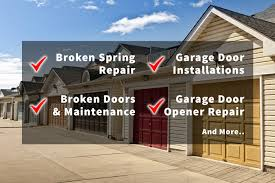 we repair all brands we treat your garage door