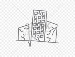 Earthquake warning system computer icons png, clipart, aftershock #23755394. Earthquake Vector Image Drawing Of An Earthquake Clipart 5589990 Pinclipart