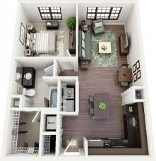 Small One Bedroom Apartment Designs One Bedroom Apartment Design 12 Tiny Ass Apartment Design Ideas To