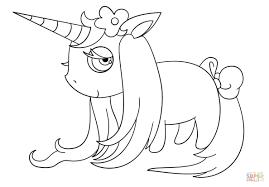 Disegno Di Unicorno Chibi Da Colorare Disegni Da Colorare E Con