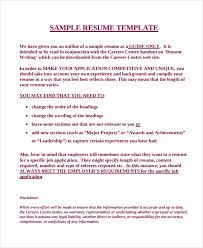 Need A Resume Template Fascinating 28 Work Resume Templates PDF DOC Free Premium Templates