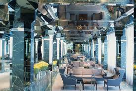 postmodern interior architecture. Simple Postmodern Hotel Lobby At The United Nations Plaza Circa Mid1980s Courtesy  Kevin Roche John Dinkeloo And Associates Inside Postmodern Interior Architecture