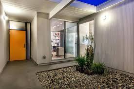 modern front door orange. Atrium Orange Front Door Exterior Mid Century Modern Doors Canada