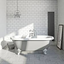 traditional bathroom lighting ideas white free standin. the bath co dulwich dove grey coloured traditional bathroom lighting ideas white free standin e