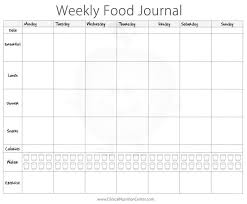 simple food log template image result for food log for introducing food mouths to