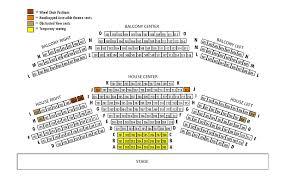 Coolidge Auditorium Seating Chart Seating Chart Bhplayhouse