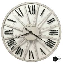 36 wall clock metal oversized features heavily seeded antique glass panels inch round 36 wall clock inch