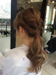 髪型解説ヘアアレンジ簡単オシャレポニーテール Acqua