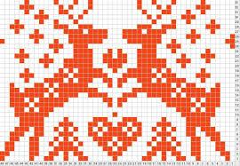 Christmas Fair Isle Knitting Charts Thecannonball Org