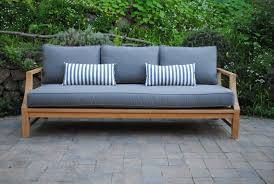 capitola deep seating sofa with sunbrella cushions