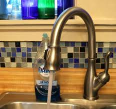 this type of faucet may not be compatible with portable or countertop dishwashers