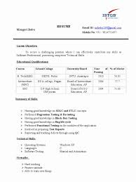 Sample Resume For Manual Testing Manual Testing Sample Resumes manual testing resume manual tester 28