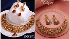 Antique Gold Jewellery Necklace Designs Antique Gold Necklace Designs Jewellery