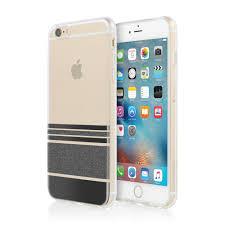 iphone 6 plus case. incipio design series wesley stripes iphone 6/6s plus black back/front iphone 6 case
