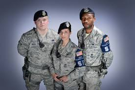 Modern Day Air Force Security Forces Uniforms Military Police