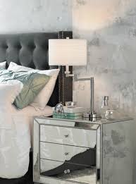 a chrome swing arm table lamp