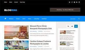 responsive blogger templates blogmag clean responsive blogger template themexpose