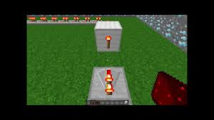 how to make a redstone lamp flash minecraft