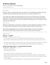 Sonographer Resume Examples - Tier.brianhenry.co