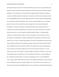 Example Philosophy Essay Personal Philosophy Essay Examples Magdalene Project Org