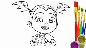Elegant Of Vampirina Coloring Pages Stock Printable Coloring Pages