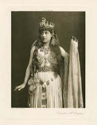 antony and cleopatra shakespeare library photograph of lillie langtry in the role of cleopatra 1891