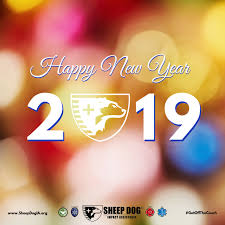 Happy New Year 2019 Sheep Dog Impact Assistance