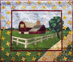 98 best ART QUILTs / WALL HANGINGs <> Quilted images on Pinterest ... & Along the Quilt Trail quilted wall hanging. $525.00, via Etsy. Adamdwight.com