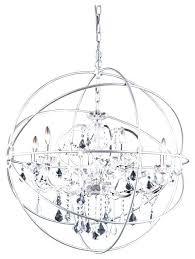 orb crystal chandelier crystal chandelier dining room orb crystal chandelier 6 lights medium size silver orb orb crystal chandelier