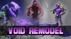 dota 2 void remodel side by side comparison youtube