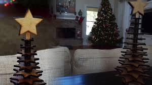 diy lasercut christmas tree