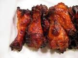 apricot glazed sriracha wings