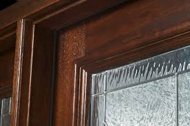 front door weather strippingExterior Prehung Mahogany Door with 2 Sidelites
