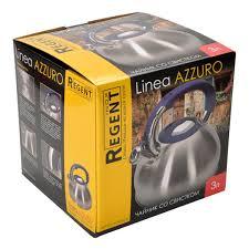 <b>Чайник Regent inox</b> Azzuro 93-TEA-AZ-01, 3 л в Москве – купить ...