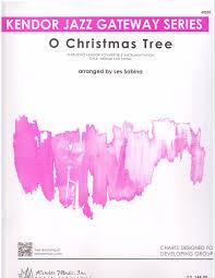 O Christmas Tree Flexible Instrumentation Holiday Music