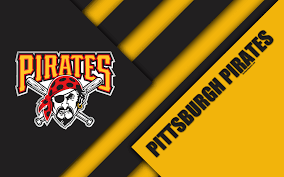 Download Wallpapers Pittsburgh Pirates Mlb 4k Black And
