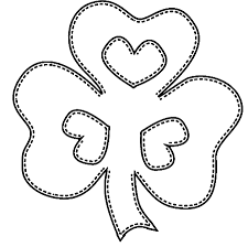 Color in this picture of a shamrock and others with our library of online coloring pages. Free Printable Shamrock Coloring Pages For Kids