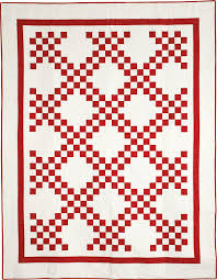 BLOCK Friday: Red and White Quilts - Fons & Porter - The Quilting ... & Two-color quilts, especially red and white quilts, are classic Americana!  The geometry of these quilts stands out clearly, giving them appealing  strength ... Adamdwight.com