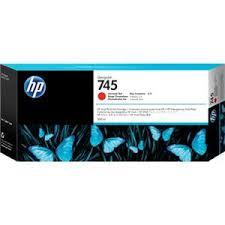 <b>HP 745</b> 300mL <b>Chromatic</b> Red Ink Cartridge for <b>DesignJet</b> Z5600 ...