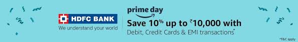 hdfcbank hdfc bank prime day offer amazon in