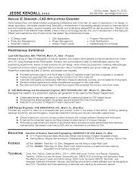 Sample Resume Format For Engineers Free Resume Example And