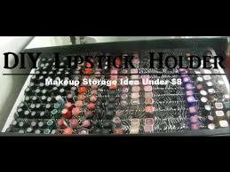 DIY Lipstick Holder Under $8   Makeup Storage Idea