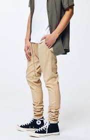 Pacsun Skirt Size Chart Pacsun Khaki Drop Skinny Jogger Pants