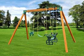 outdoor wooden swing sets classic wooden a frame swing set for kids outdoor wooden swing set plans